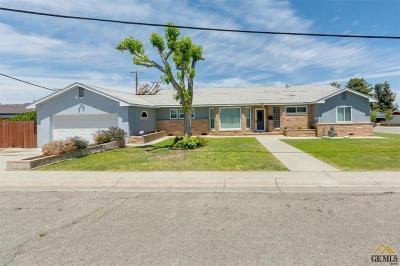 Taft Single Family Home For Sale: 400 A Street