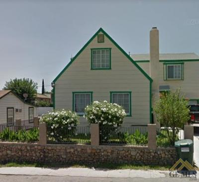 Taft Single Family Home For Sale: 615 A Street