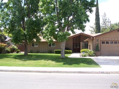 Single Family Home For Sale: 601 Vista Verde Way