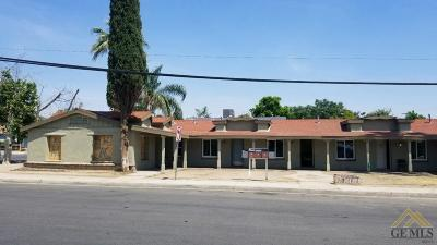 Bakersfield Multi Family Home For Sale: 1119 Brown Street
