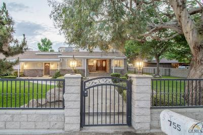 Bakersfield CA Single Family Home For Sale: $850,000