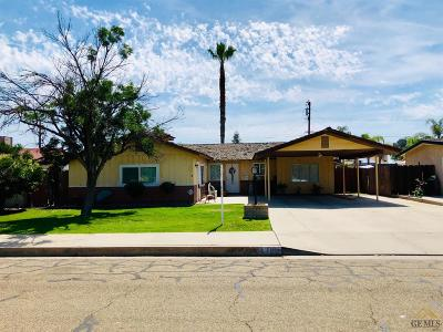 Wasco Single Family Home For Sale: 1110 Maple Avenue