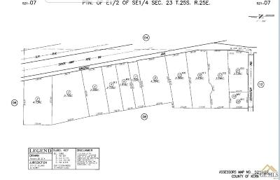 Delano Residential Lots & Land For Sale: Garzoli Ave