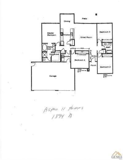 Tehachapi Single Family Home For Sale: 29981 Caddy Lane
