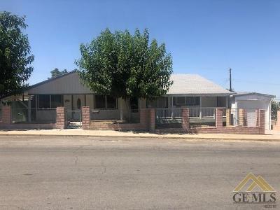 Taft Single Family Home For Sale: 522 E Street
