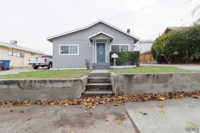 Taft Single Family Home For Sale: 419 D Street