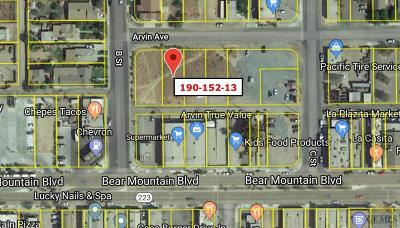 Arvin Residential Lots & Land For Sale: Arvin Avenue