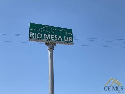 Bakersfield Residential Lots & Land For Sale: Rio Mesa Drive Drive