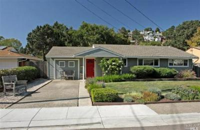 Mill Valley CA Single Family Home Sold: $629,000