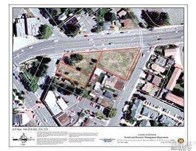 Cotati Residential Lots & Land Contingent-Show: 120 East Cotati Avenue