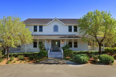 Healdsburg Single Family Home For Sale: 2347 Sweetwater Springs Road