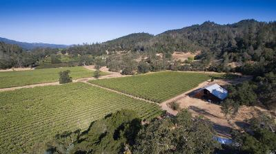 Napa County Farm & Ranch For Sale: 280 Crystal Springs Road