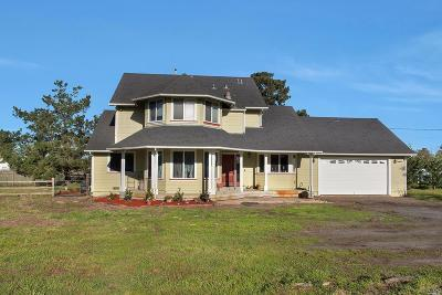Sebastopol Single Family Home For Sale: 3425 Gravenstein Highway South