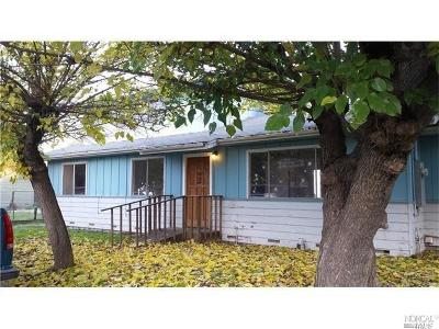 Clearlake Single Family Home For Sale: 3474 Grey Avenue