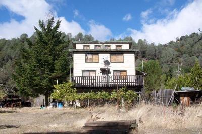 Covelo Single Family Home For Sale: 32251 Mendocino Pass Road