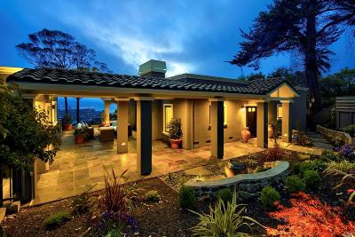 Tiburon Single Family Home Contingent-Show: 1830 Mountain View Drive