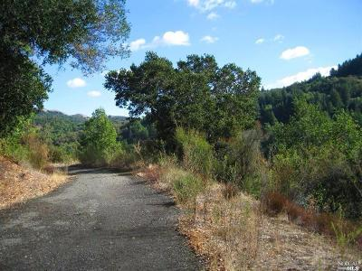 Marin County Residential Lots & Land For Sale: 526 Cascade Drive