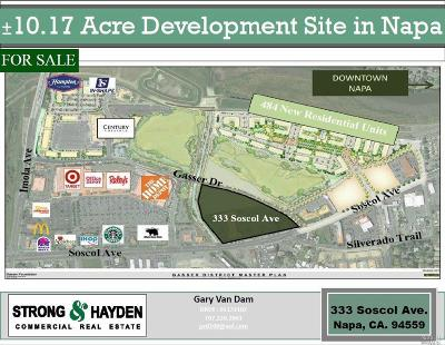 Napa County Residential Lots & Land For Sale: 333 Soscol Avenue
