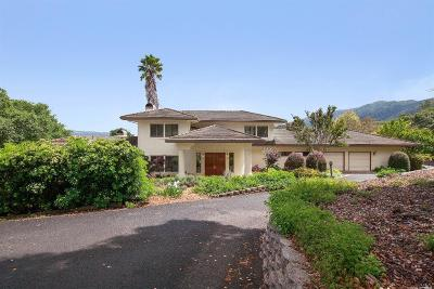 Glen Ellen Single Family Home For Sale: 3107 Warm Springs Road