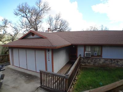 Pope Valley Single Family Home For Sale: 1140 Deputy Drive