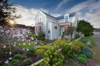 Mendocino Single Family Home For Sale: 44960 Ukiah Street