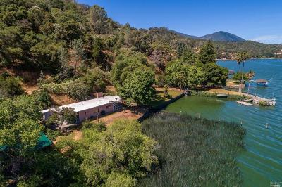 Clearlake Single Family Home For Sale: 11920 North Drive