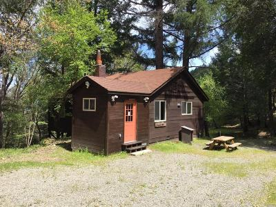 Laytonville CA Single Family Home For Sale: $395,000