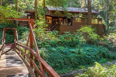 Healdsburg Single Family Home For Sale: 7184 Mill Creek Road