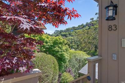 Sausalito Single Family Home For Sale: 83 George Lane