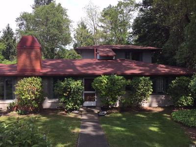 Ukiah Single Family Home For Sale: 301 North Barnes Street