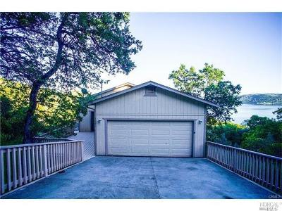 Clearlake Single Family Home For Sale: 3095 Oak Crest Drive