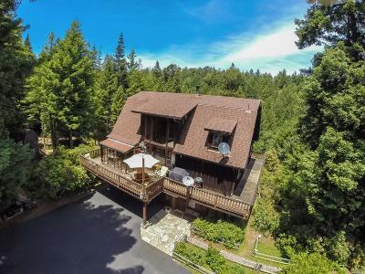 Fort Bragg Single Family Home For Sale: 31900 Ross Ranch Road