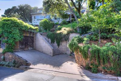 Sausalito Single Family Home Contingent-Show: 71 Central Avenue
