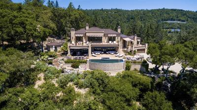 Sonoma County, Mendocino County, Marin County, Napa County, Lake County Single Family Home For Sale: 101 Rutherford Hill Road