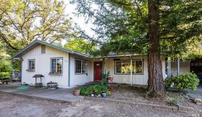 Mendocino County Farm & Ranch For Sale: 6800 Central Avenue