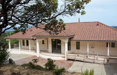 Napa Single Family Home For Sale: 2257 Monticello Road