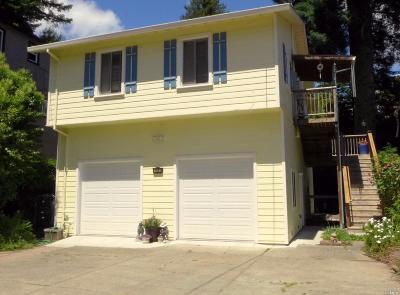 Guerneville CA Single Family Home For Sale: $459,000