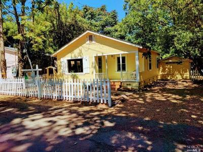 Sonoma Single Family Home Contingent-Show: 18039 River Road