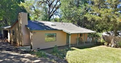 Ukiah Single Family Home For Sale: 5100 Eastside Calpella Road
