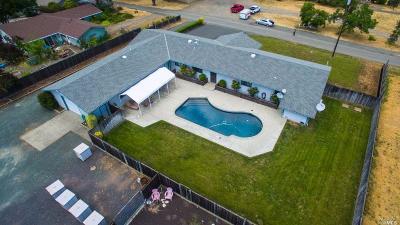 Ukiah Single Family Home For Sale: 3900 Burke Hill Drive
