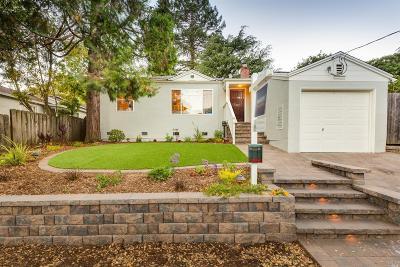 San Rafael Single Family Home For Sale: 1711 Lincoln Avenue