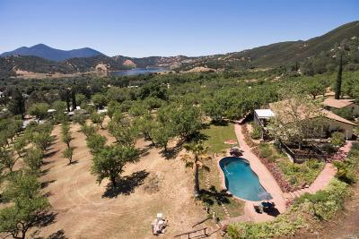 Clearlake Single Family Home For Sale: 13752 Eastlake Drive