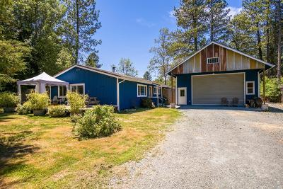 Laytonville CA Single Family Home Contingent-Show: $339,000