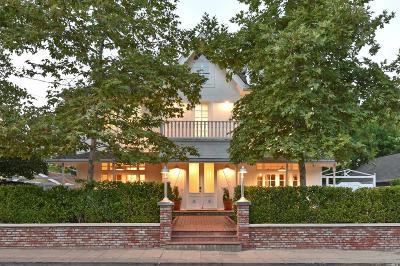 St. Helena Single Family Home For Sale: 1230 Stockton Street