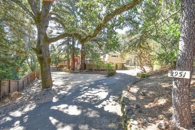St. Helena Single Family Home Contingent-Show: 2951 Saint Helena Highway North