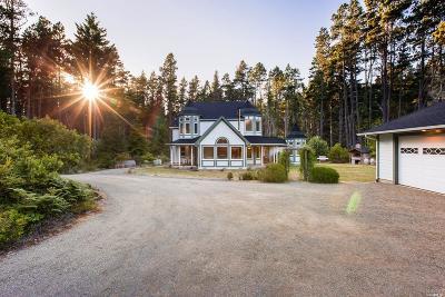 Mendocino Single Family Home For Sale: 13301 Sea Pines Lane