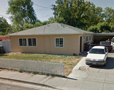Solano County Multi Family 2-4 For Sale: 709 Oregon Street