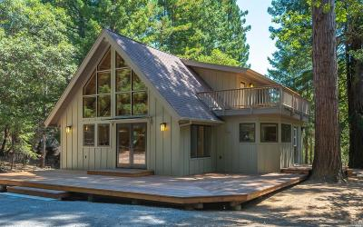 Healdsburg Single Family Home For Sale: 8676 Palmer Creek Road