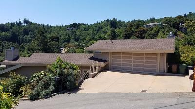San Rafael Single Family Home For Sale: 59 Knoll Road