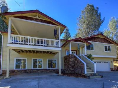 Hidden Valley Lake Single Family Home For Sale: 19148 Deer Hill Road